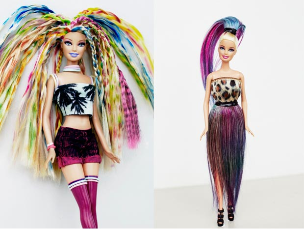 How To Style Barbie Hair Awesome Barbie What'd You Do To Your Hair  Birchbox